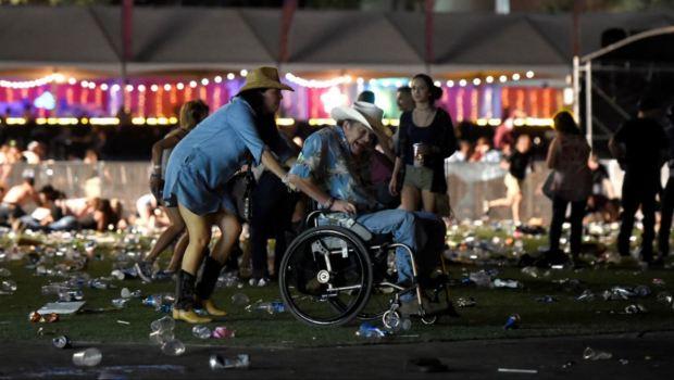 Videos de testigos durante masacre en Las Vegas