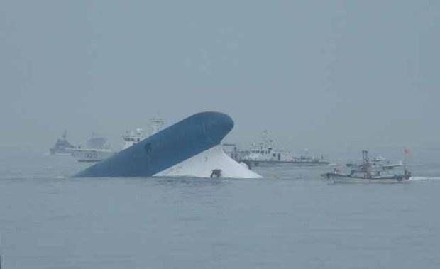 Video: Sewol: video capta al capitán huyendo
