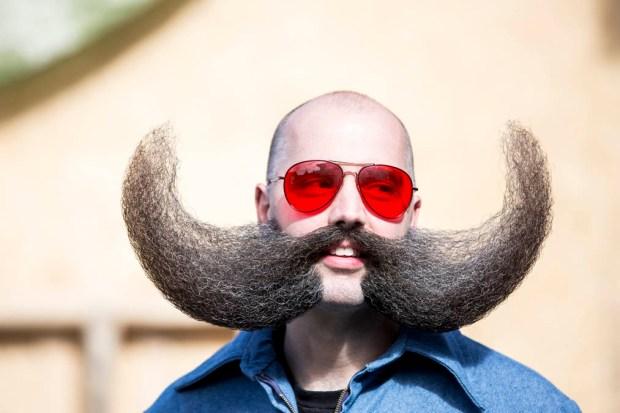 """Fotos: los más """"fashion"""" barbudos y bigotudos"""