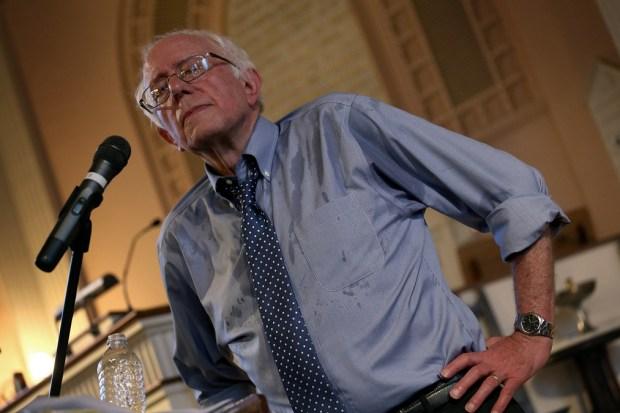 Bernie Sanders, el precandidato socialista