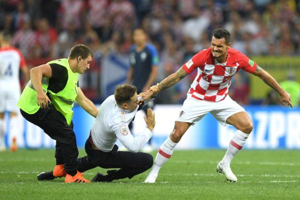 Lo que no se vio: cómo jugador enfrentó a intrusos en la final del Mundial