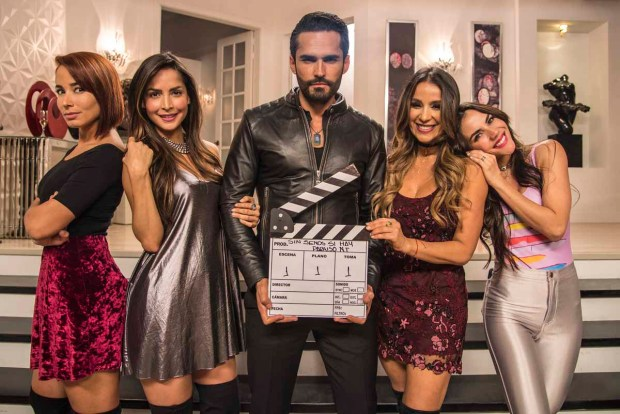 """Carmen Villalobos vuelve como """"Catalina"""" en """"Sin senos sí hay paraíso"""""""