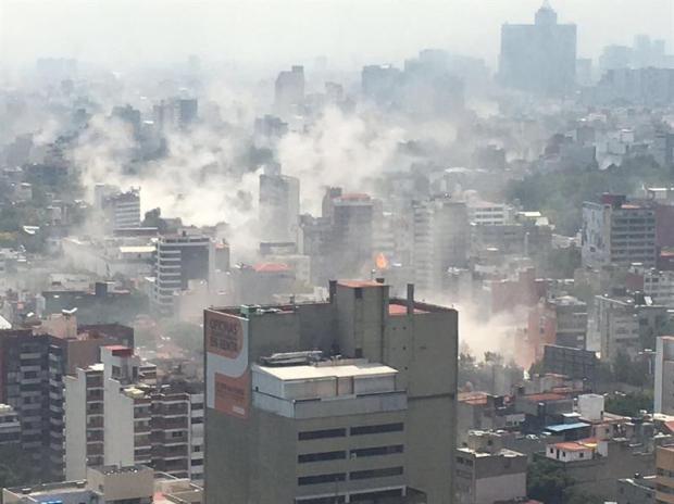 [TLMD - NATL] Terremoto en México: estremecedores videos de redes sociales