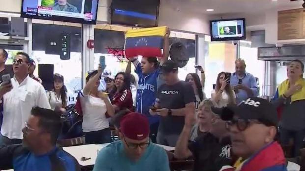 [TLMD - MIA] Así reaccionó la comunidad venezolana en Miami a llamado de Guaidó y López
