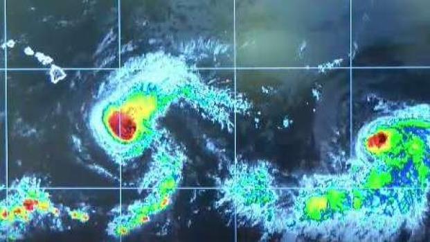 El huracán Erick afectará Hawaii con fuertes lluvias