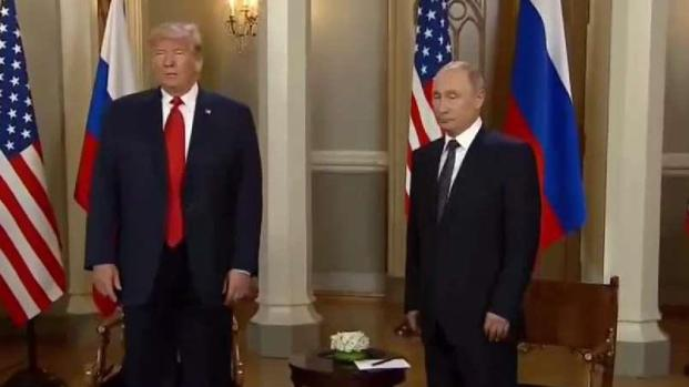 Trump y Putin ya se reúnen a puertas cerradas