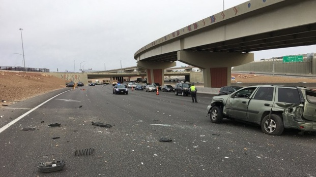 Accidentes y cierres causan caos vial en el la US95