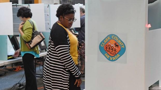 Elecciones en Nevada: resultados de votaciones en el área