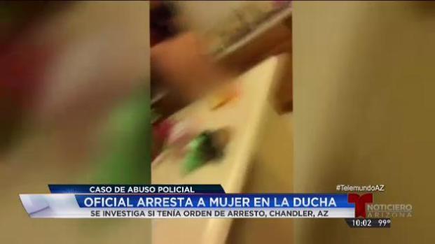 Video: Mujer arrestada desnuda en Arizona