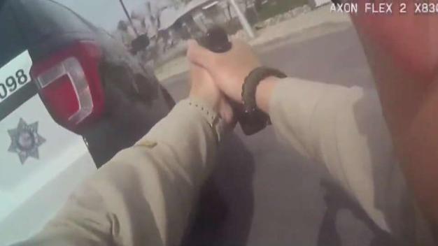 Policía utilizó 18 disparos para detener a hombre en LV