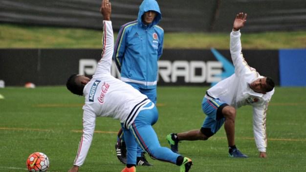 La selección Colombia se prepara en Bogotá