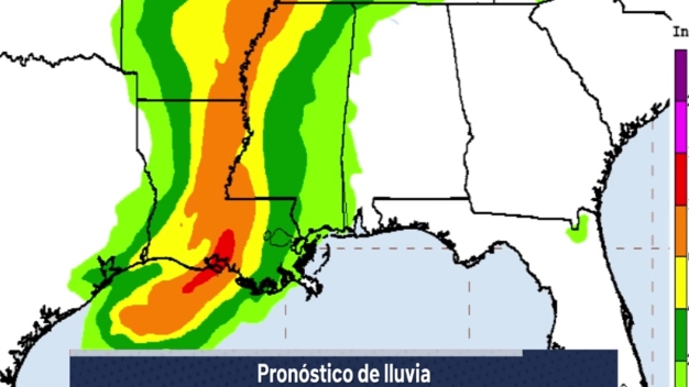 Tormenta tropical Barry: boletín de las 5 p.m.