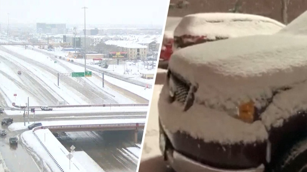 En video: nevada histórica cubre el norte de Texas
