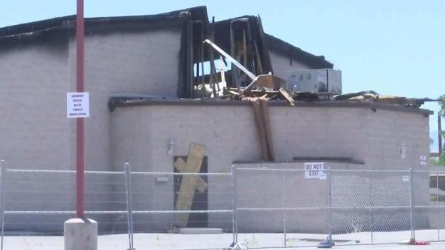 Menores de edad arrestados por incendio en iglesia de North Las Vegas