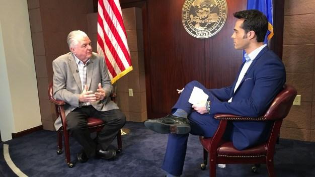 Gobernador Sisolak habla sobre las armas en Nevada