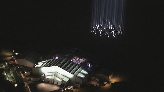 Luces en el Strip ¿Cuál fue el motivo del resplandor en el cielo de Las Vegas?