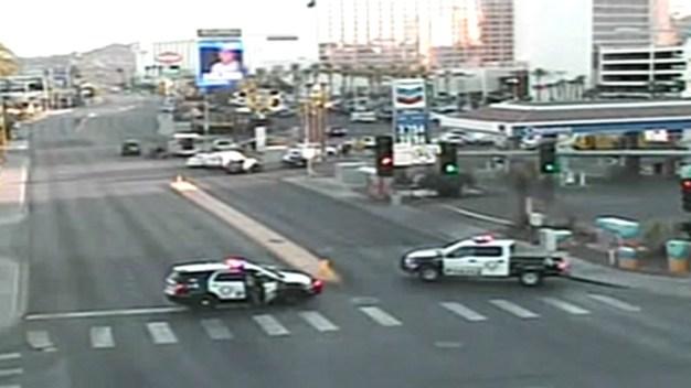 Hombre muere tras tiroteo con policía de Las Vegas