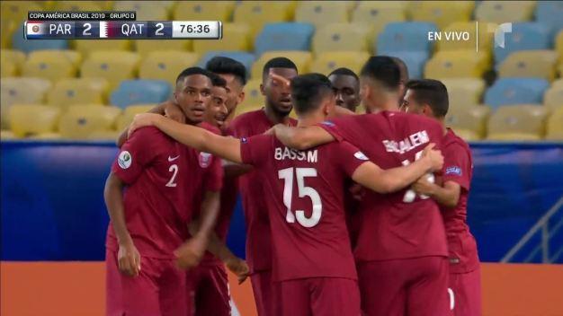 Khoukhi pone a Paraguay contra las redes, empate a dos goles