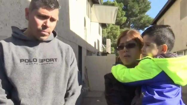 Padres salvan hijo de 4 años lanzándolo por la ventana