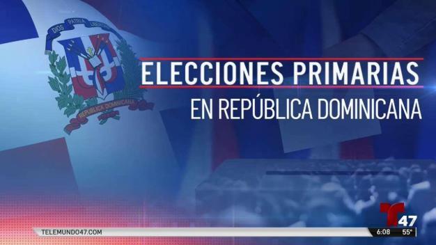 Todo listo para las primarias en República Dominicana
