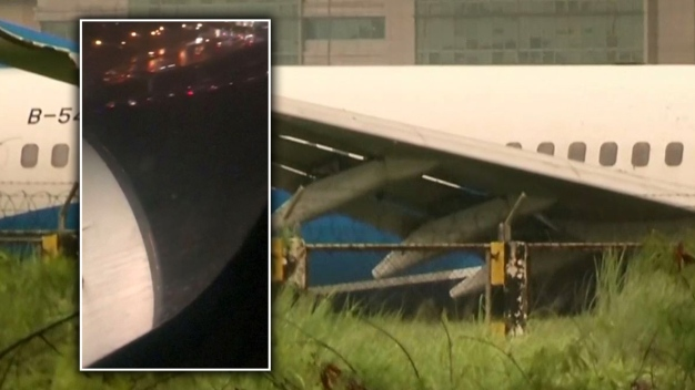 En video: pasajero graba accidente en pleno aterrizaje