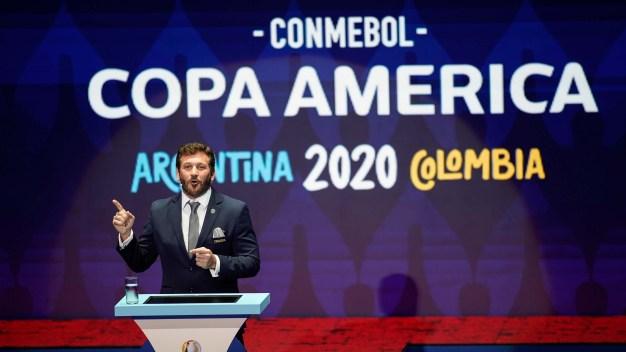 Copa América 2020: sortean los grupos para el certamen