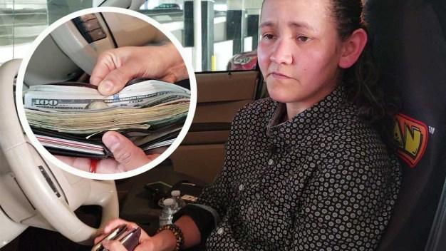 Se encuentra cartera con miles de dólares en el Strip