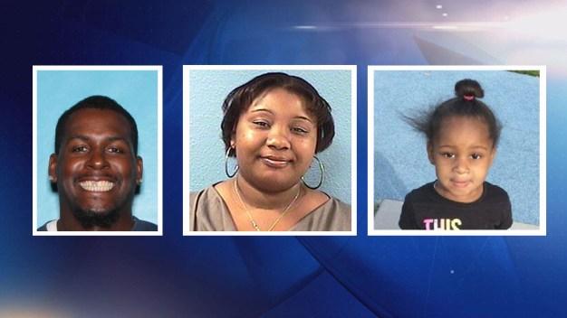 Policía busca a padres por haberse llevado a su hija