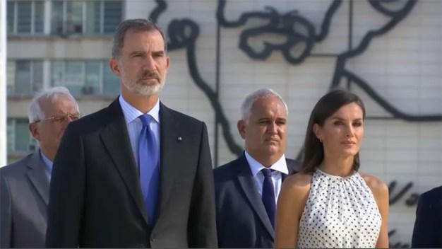 Exilio en Miami protesta por visita de reyes a Cuba