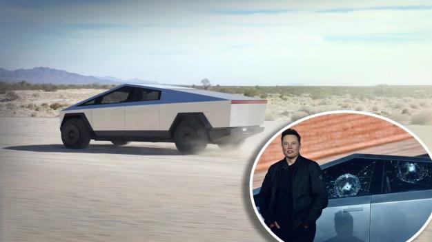 ¿A prueba de balas? Qué papelón al presentar el nuevo Tesla