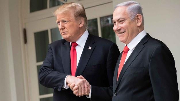 Trump reconoce soberanía de Israel sobre Altos del Golán