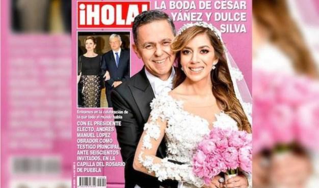Crece escándalo tras fastuosa boda de colaborador de AMLO