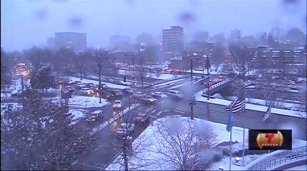 Video: Tormenta invernal azota a Colorado