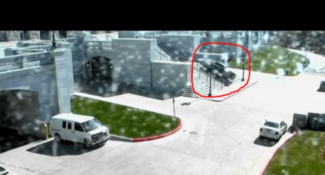 Video: Hombre enloquece en el Capitolio