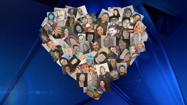 Artistas de todo el mundo recuerdan a víctimas del Strip