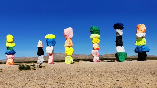Seven Magic Mountains: atracción mágica en Las Vegas