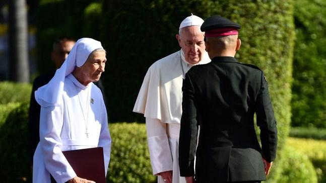 Quién es la monja Ana Rosa, la prima del Papa Francisco