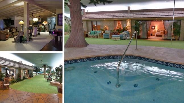 Casa lujosa bajo tierra en Las Vegas sale a la venta