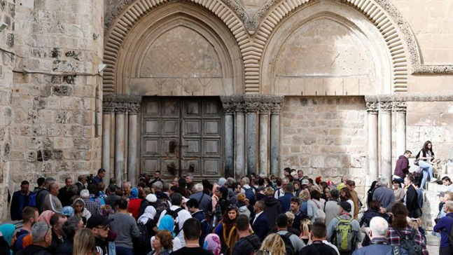 Por qué continúa cerrado el Santo Sepulcro en Jerusalén