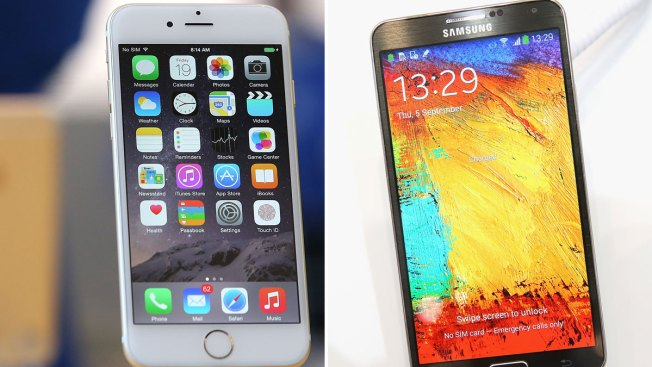 Apple cerca de Samsung en venta de celulares