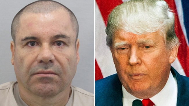 """Presunta amenaza de """"El Chapo"""" contra Trump"""