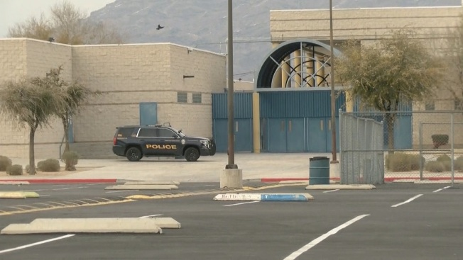 Estudiante de preparatoria armado es arrestado en North Las Vegas