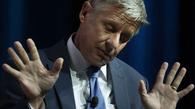 Candidato presidencial sufre bochornoso momento en tv