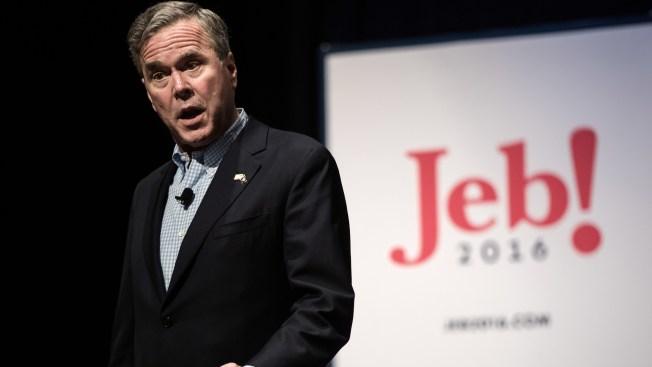 Jeb Bush: republicanos deben retar a Trump en primarias