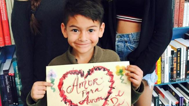 Selfies de solidaridad para Aurora