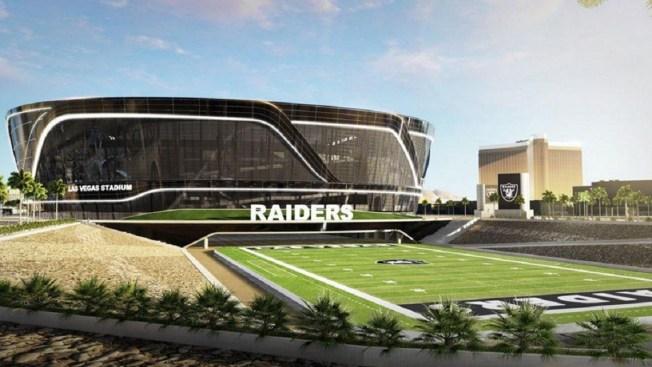 Inicia la construcción del nuevo estadio de Raiders en Las Vegas