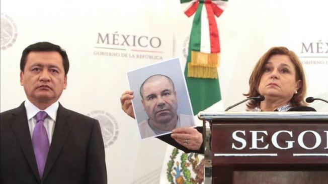 """Recompensa de $3,8 millones por """"El Chapo"""""""