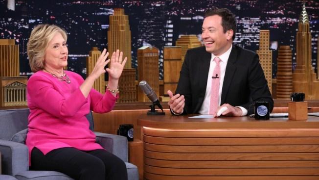 Hillary Clinton esta noche en programa de Jimmy Fallon