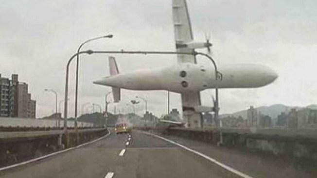 26 muertos en accidente de avión en Taiwán