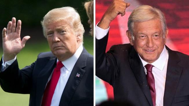 """Trump dice que López Obrador lo """"ayudará en la frontera"""""""